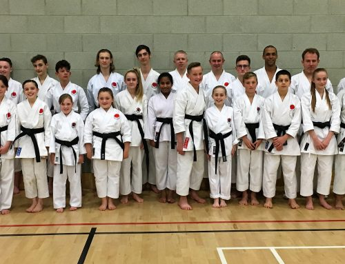 TSKUK Gain 23 New 1st Dans and 6 New 2nd Dans At TSKUK Course