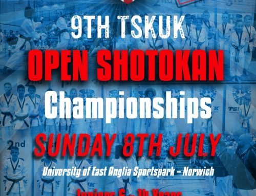 9th TSKUK Open Shotokan Championships 8th July 2018 – Entry Forms