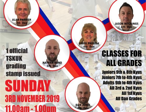 Free 1 Day Course – Sunday 3rd November 2019