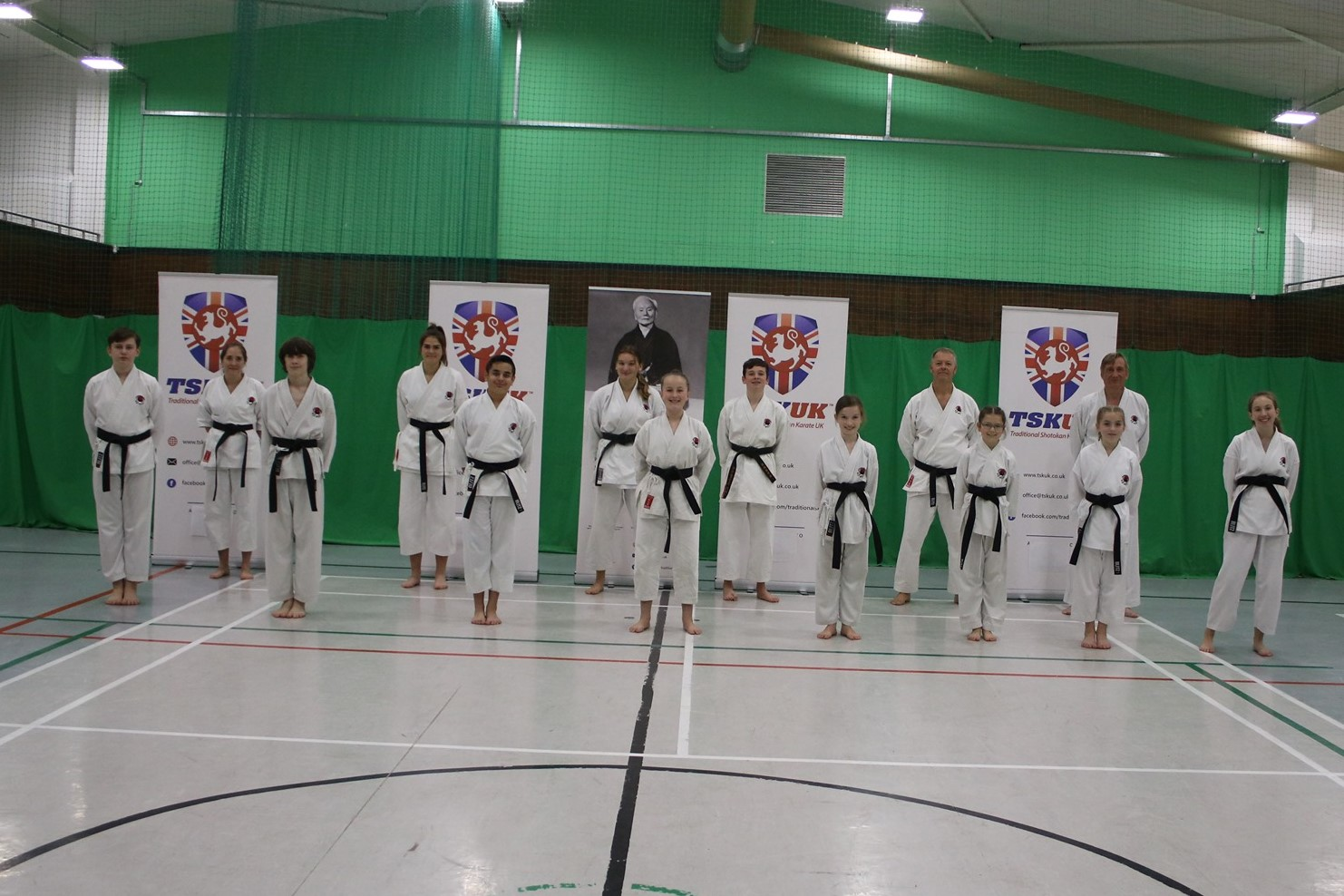 TSKUK Gain 32 New Shodan and 3 New Nidan Blackbelts
